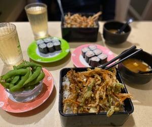 date, japanese, and sushi image