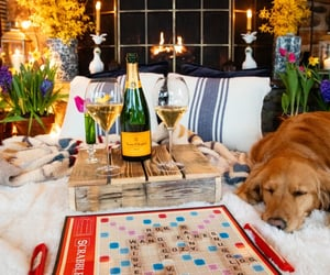 cosy, scrabble, and game night image