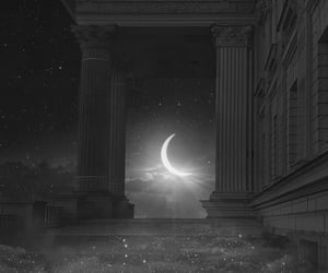 moon, aesthetic, and beautiful image