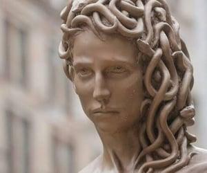 art, medusa, and statue image