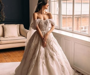 princess, vogue, and wedding image