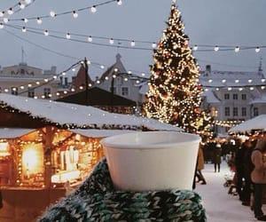 christmas, edit, and snow image