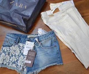 fashion, Zara, and jeans image