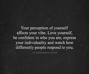 confidence, individuality, and perception image