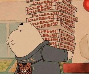 bear, cartoon, and aesthetic image