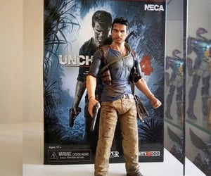 action figure, uncharted, and nathan drake image