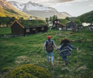 couple, travel, and love image