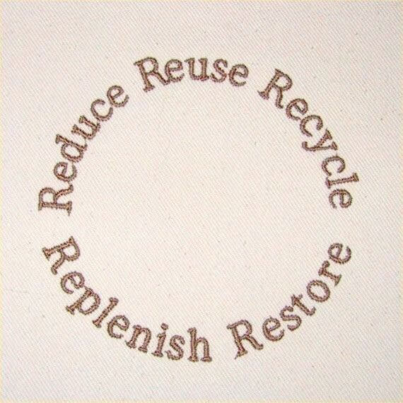 recycle, reuse, and restore image