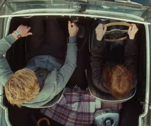 car, couple, and wild child image