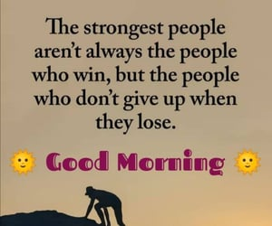 good morning, quote, and words image