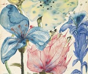 art, salvador dali, and flowers image