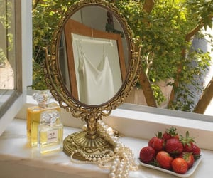 aesthetic, mirror, and nature image