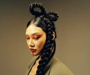 asian, fashion, and hair image