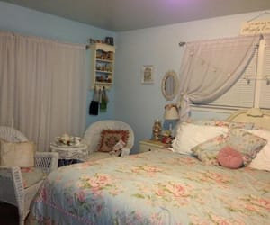 bedroom, cottage, and inspiration image