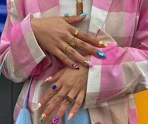 aesthetics, fashion, and nails image