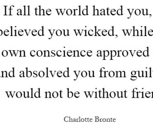 charlotte bronte, jane eyre, and quote image