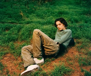 actor, timothee chalamet, and gq magazine image