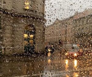 rain, aesthetics, and autumn image