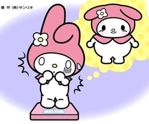 archive, my melody, and pink image
