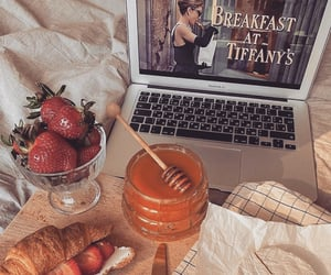 food, breakfast, and honey image
