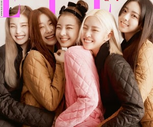 itzy, girls, and elle korea image