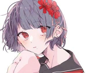 anime, kawaii, and girl illustration image