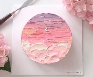 cake, food, and moon image