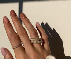 nails, accessories, and rings image