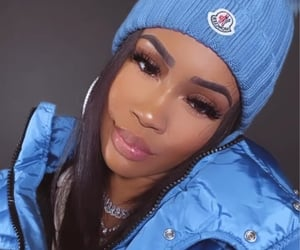 blue, icy, and saweetie image