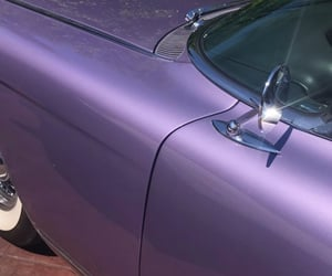 purple, aesthetic, and car image