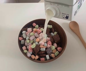 aesthetic, cereal, and delicious image