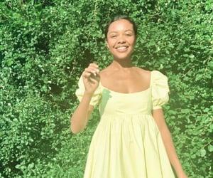 aesthetic, garden, and girl image