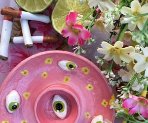 art, ceramics, and eyes image