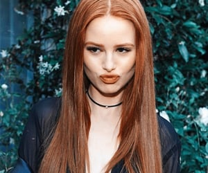 ginger, riverdale, and madelaine petsch image