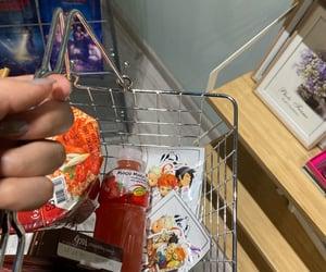 anime, diary, and food image