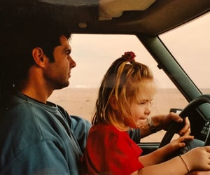 car, driving, and family image