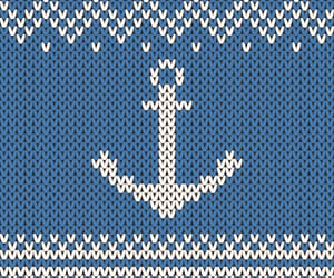 anchor, art, and chevron image
