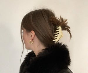 clip, fashion, and hair image