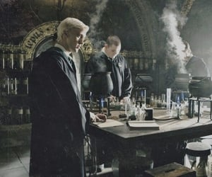 harry potter, potions, and slytherin image