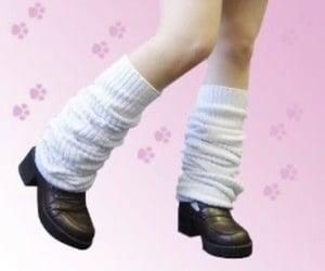 fashion, inspo, and leg warmers image