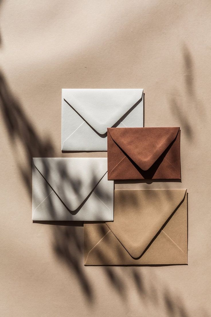 brown and envelope image