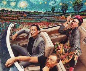 art, car, and frida kahlo image