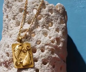 chic, necklaces, and star signs image