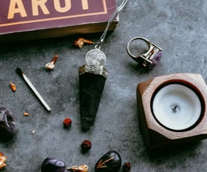 aesthetic, matchstick, and witch image
