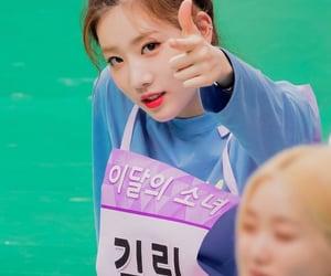 kim lip, loona, and gowon image