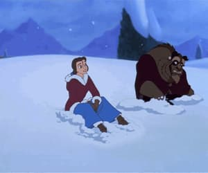 beauty and the beast, december, and gif image