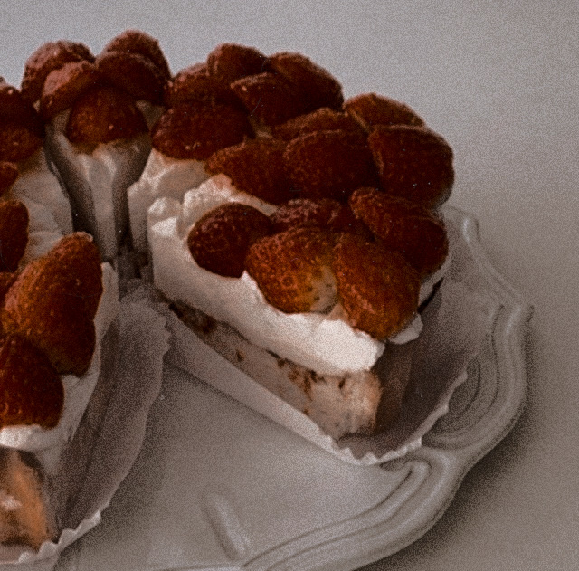 aesthetic, cream, and foodporn image