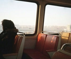 aesthetic, bus, and vintage image