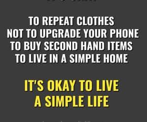 simple life, its okay, and learn life image