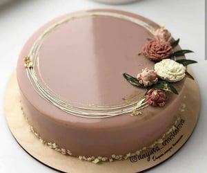 art, cake, and dessert image